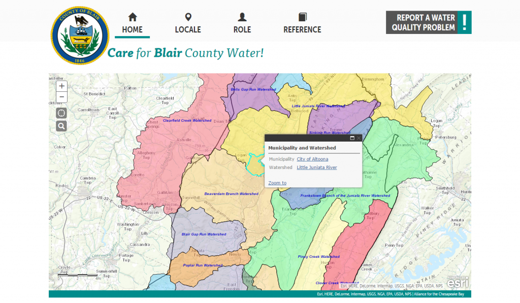 Clean Blair Water